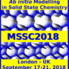 Modelling in Solid State Chemistry